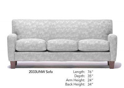 Applause Sofa Neutral 2033UNW
