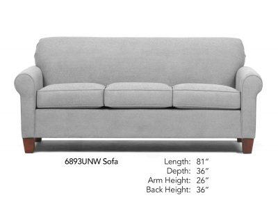 Spencer Sofa Neutral 6893UNW