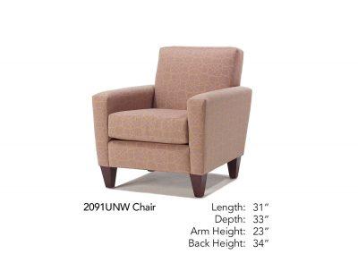 Bravo Chair 2091UNW