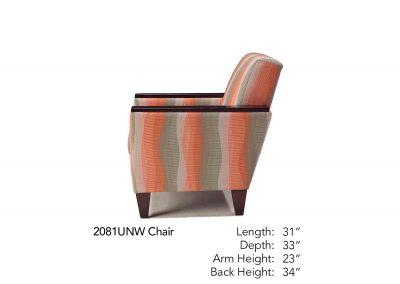 Bravo Chair 2081UNW