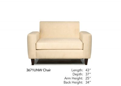 Encore Chair 3671UNW