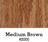 Medium Brown Finish
