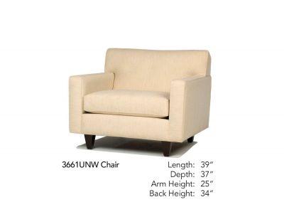 Encore Chair 3661UNW