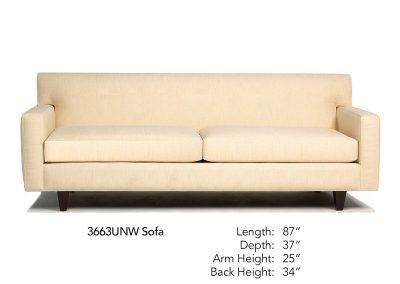 Encore Sofa 3663UNW