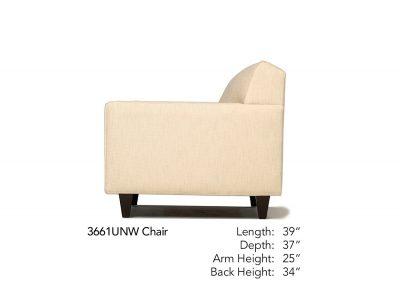 Encore Chair Side 361UNW