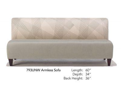 Parkside Armless Sofa 793UNW