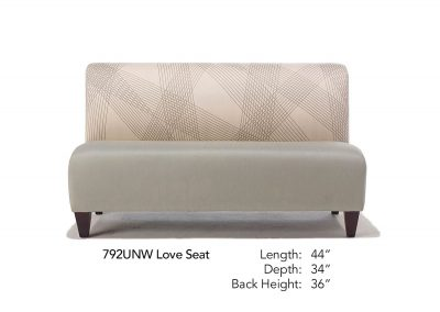 Parkside Love Seat 792UNW
