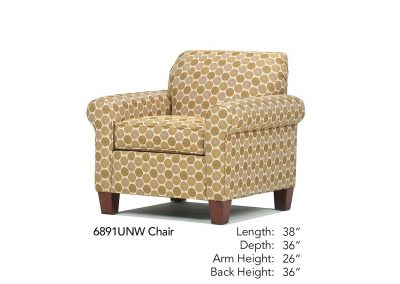 Spencer Chair 6891UNW