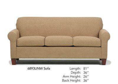 Spencer Sofa 6893UNW
