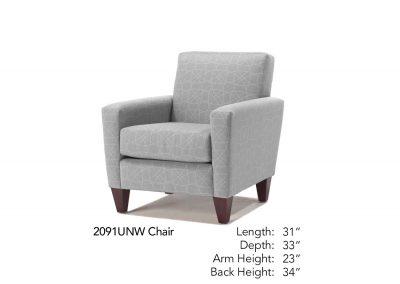 Bravo Chair Neutral 2091UNW