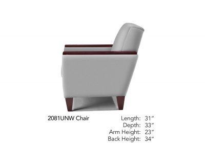 Bravo Chair Side Neutral 2081UNW