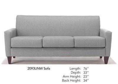 Bravo Chair Sofa Neutral 2093UNW