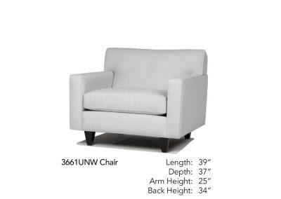 Encore Chair Neutral 3661UNW