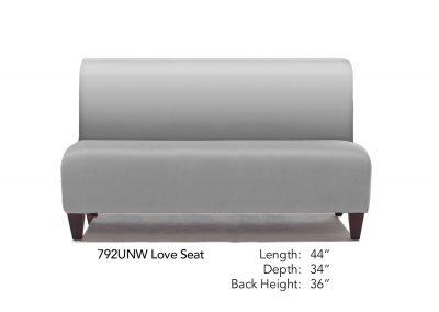 Parkside Love Seat Neutral 792UNW