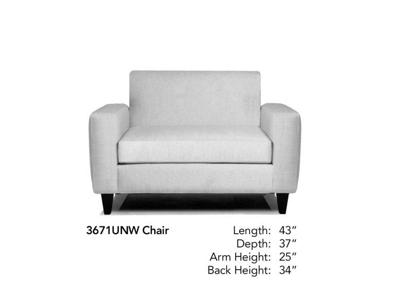 Encore Chair Neutral 3671UNW