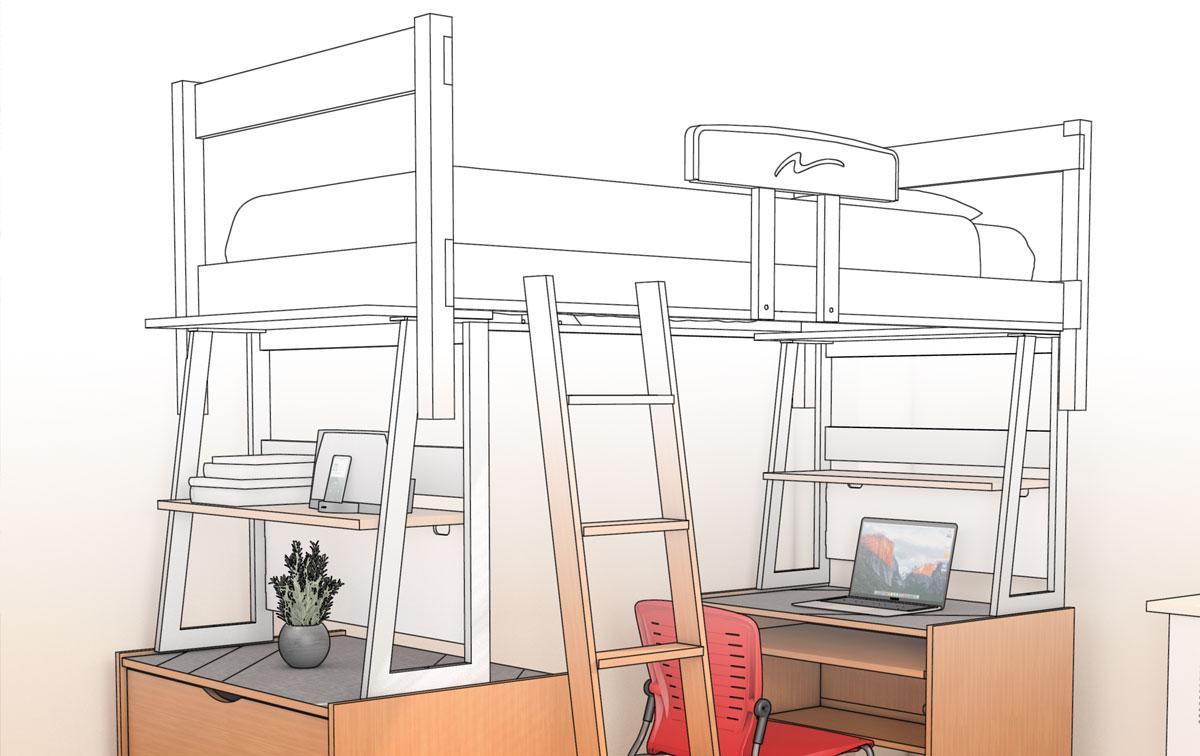 LifeSpace II Sketch