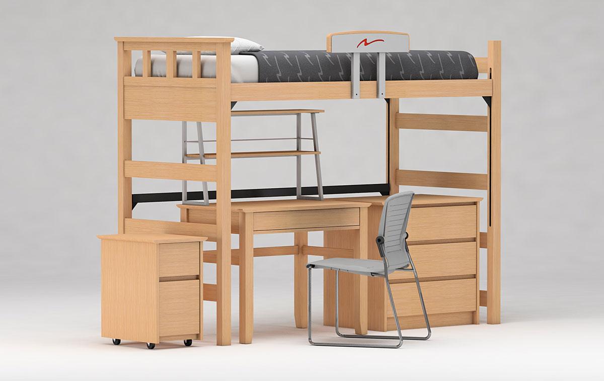 FreshSpace Lofted Bed