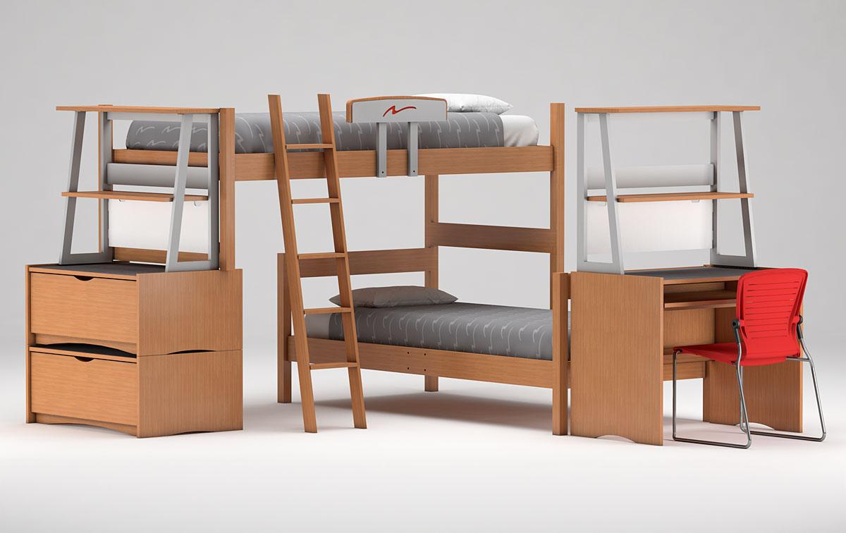LifeSpace II Bunked Beds
